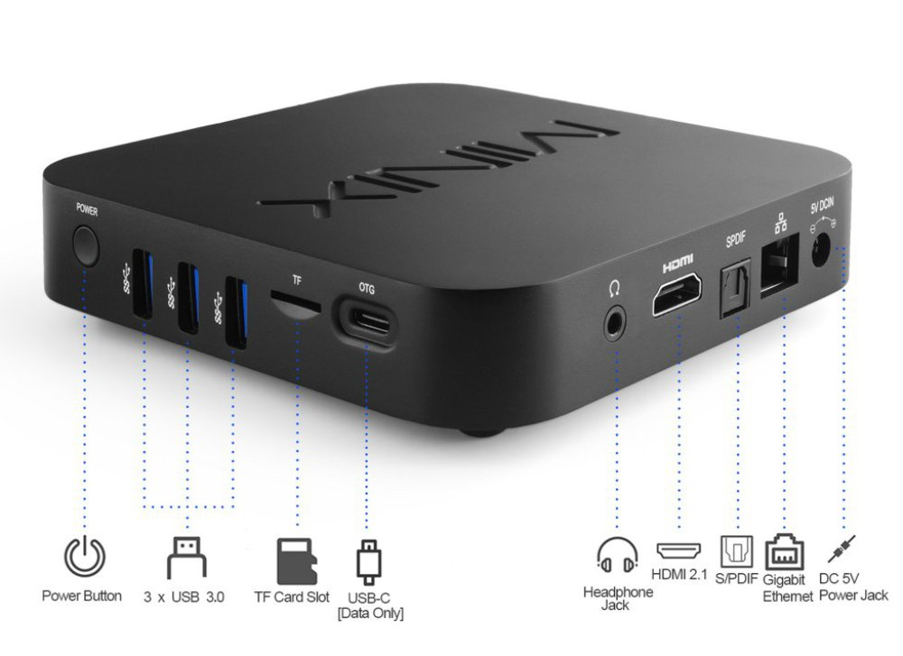 MINIX NEO U22-XJ Android 9 TV Player